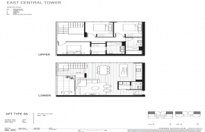 East Central Tower floor plans