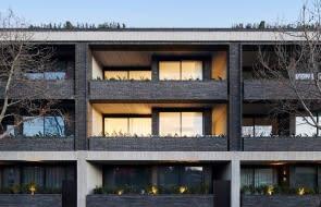 Woods Bagot designs brick-and-concrete apartment complex in Melbourne