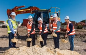 Construction starts on Sabina Apartments, Applecross