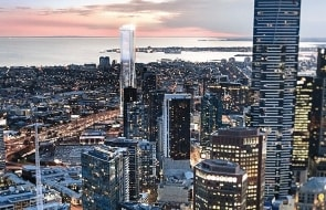 51-65 Clarke Street shapes as a Southbank tower with a twist