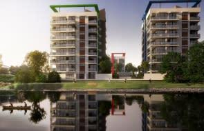 Aura – New lake side apartments on Lake Orr the Gold Coast