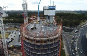 New towers emerge as north-western residential hub takes shape