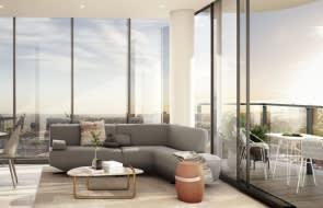 Live City Footscray floor plans