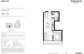 Mason Square floor plans