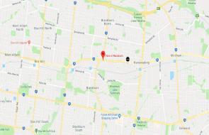 Pace of Blackburn, Melbourne location