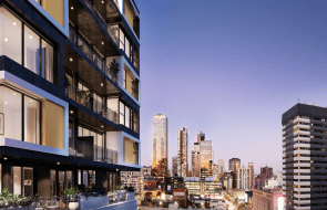388 Lonsdale Street height