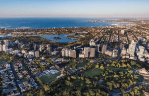 Melbourne's St Kilda Road is set to welcome a resurgence of new development