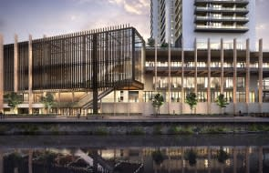 The Lennox Riverside Tower in Parramatta