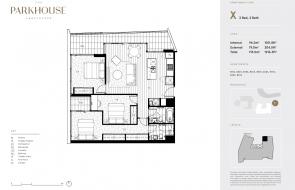 The Parkhouse floor plans