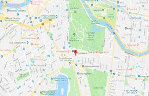 Victoriana, Melbourne location