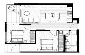 West End floor plans