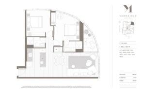 Yarra One floor plans
