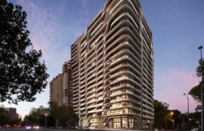 New Zaha Hadid-designed residential tower slated for Melbourne