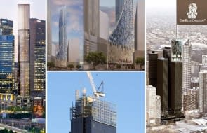 A synopsis of Melbourne's 200 metre plus towers produces a startling number