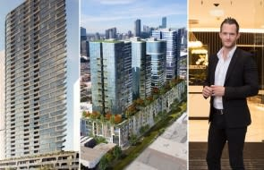 Fishermans Bend's development scene rumbles back to life