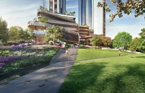 Melbourne Square to add some much needed green infrastructure to Southbank