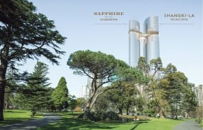 Works commence on Melbourne's Sapphire By The Gardens