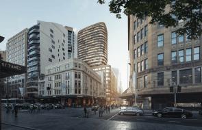 The $300 million overhaul: A luxurious future for Sydney's David Jones menswear store