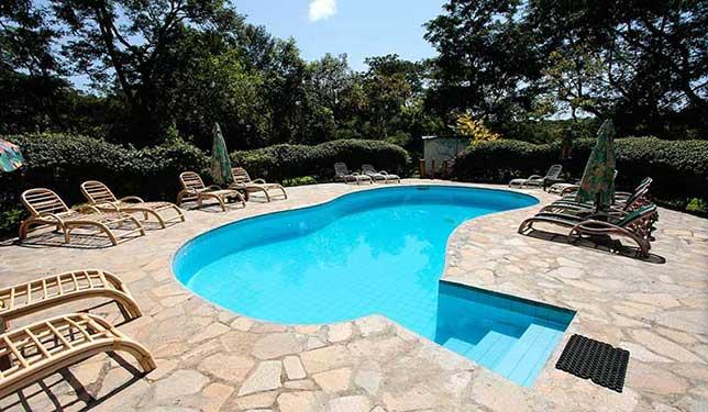 Swimming pool Sambiya River Lodge