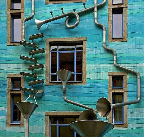 Dresden Rube Goldberg Rain Machine