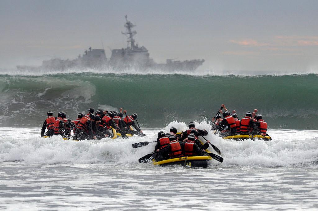 Seals Hell Week in Coronado