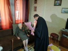 Труженица тыла, ветеран труда Надежда Кирилловна Станченкова отмечает 100-летний юбилей