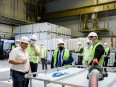 В Ярцевском районе открылся завод компании «Уралхим» по производству жидкого реагента AdBlue