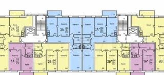 2-к квартира, 67.3 м², 5/12 эт.