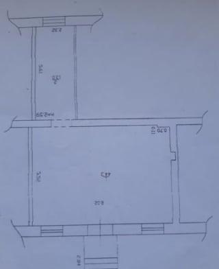 Коттедж 57.3 м² на участке 57.3 сот.