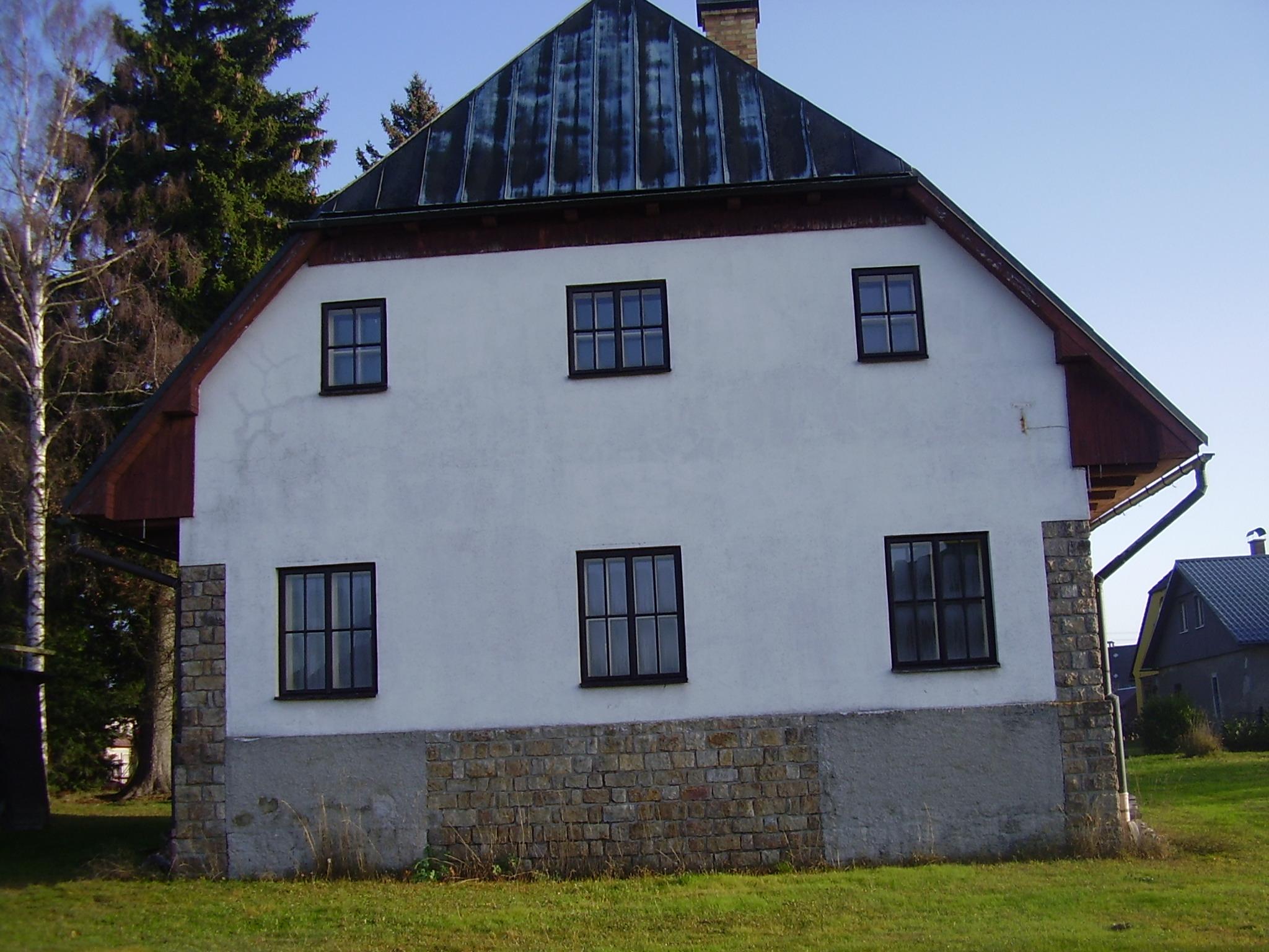 Rekonstrukce domu Vysoké nad Jizeroupřed