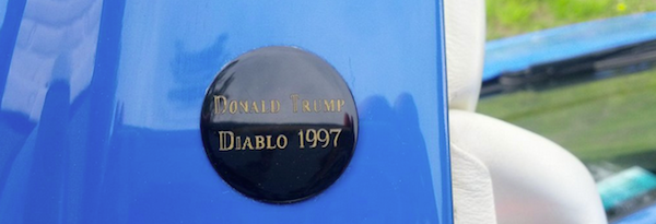Donald Trump S 1997 Lamborghini Diablo Luxury Branded