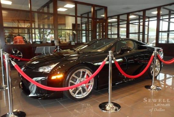 lexus lfa for sale in dallas tx - luxury branded