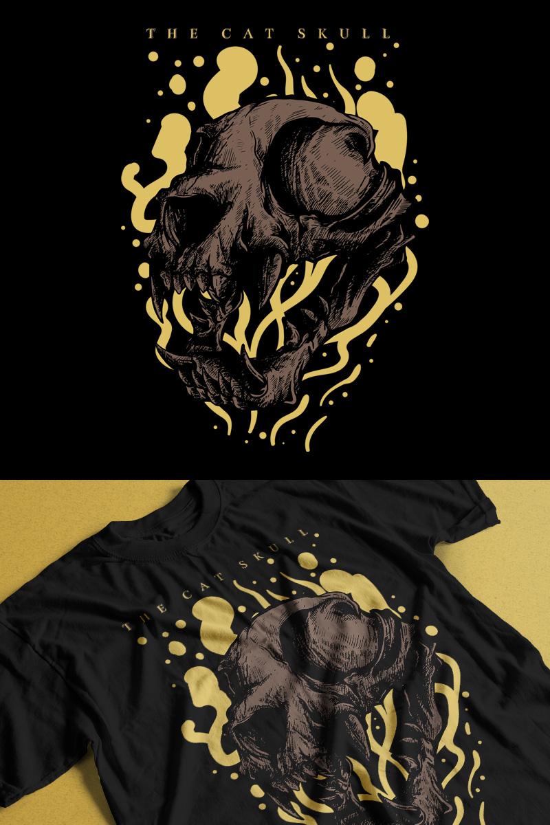 The Cat Skull T-shirt
