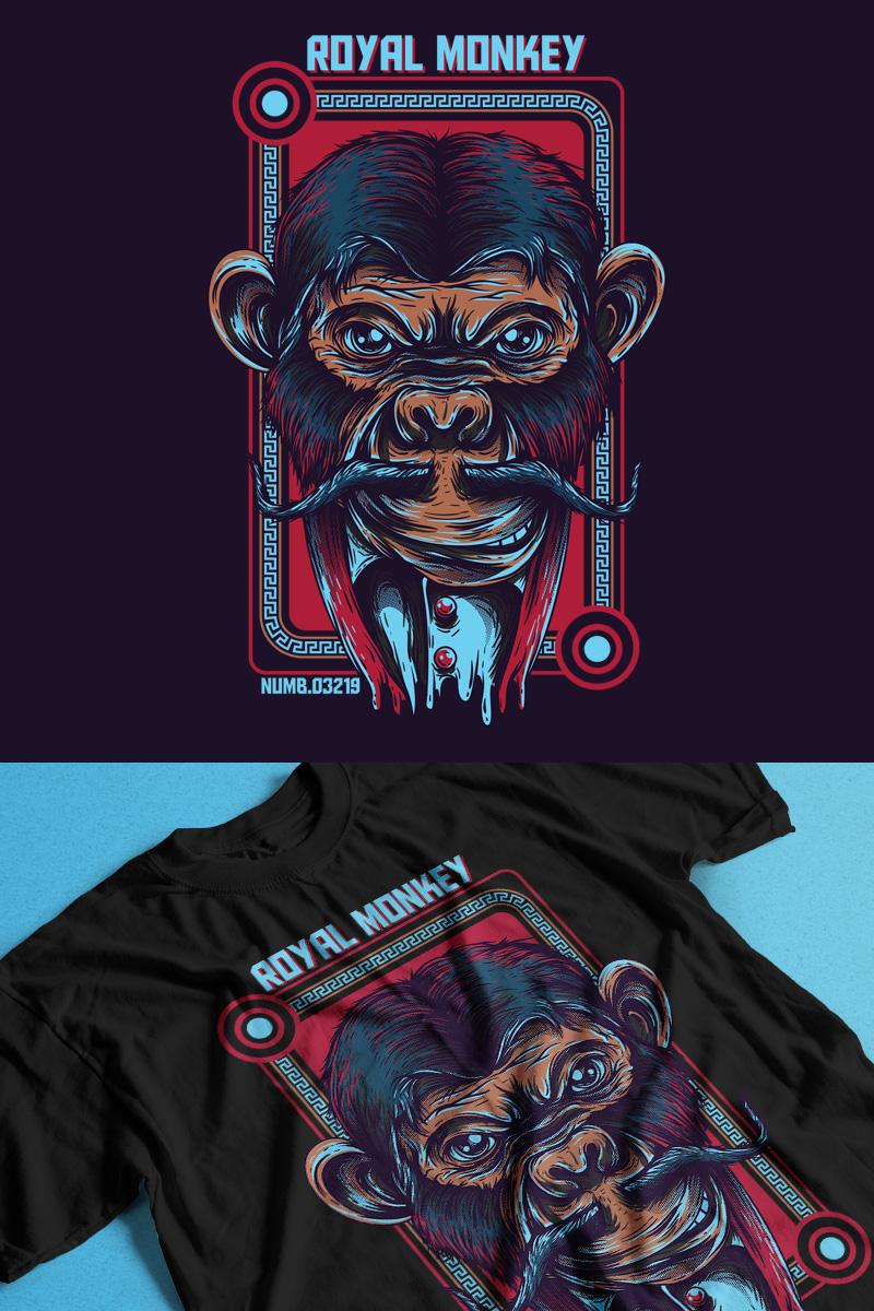 Royal Monkey T-shirt