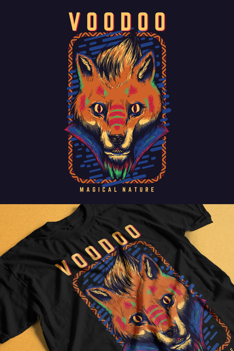 Voodoo Fox T-shirt