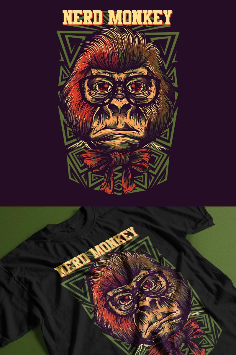 Nerd Monkey T-shirt