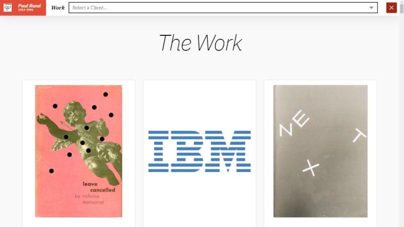 Paul Rand Design Portfolio