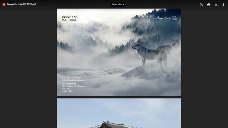 Google Drive Graphic Design Portfolio