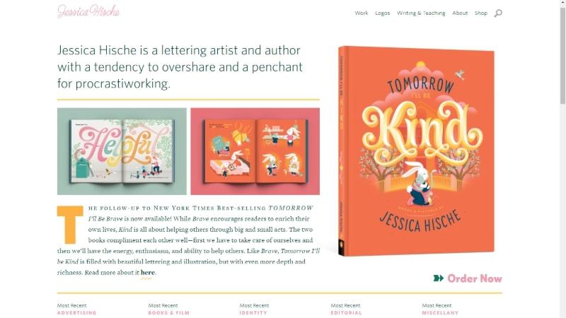 Jessica Hische design portfolio