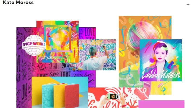 Kate Moross graphic design portfolio