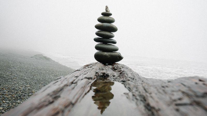 Balanced root chakra