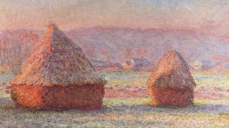 Landscape painting lighting