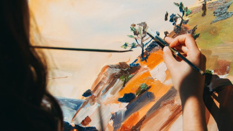 Acrylic Landscape Painting: a Step-by-step Guide