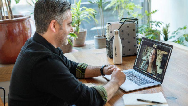 Professional virtual meeting