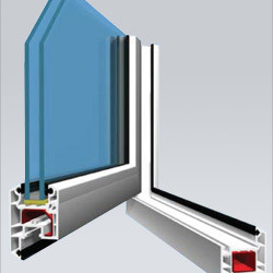 Veka AD58 Casement Window (Outwards Opening) System casement door