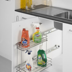 Kaff Pull-Out Detergent Rack (Under Sink)
