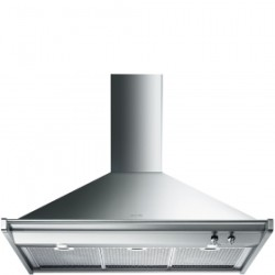 Smeg Wall Decorative Hood, 100 Cm, Classica, Stainless Steel, Energy Rating A