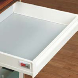 Inox Internal Drawer Front Plate with Handle