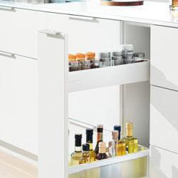 Blum Narrow Cabinets