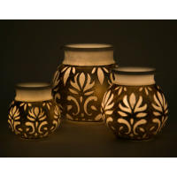 Lamps By Carved Additions
